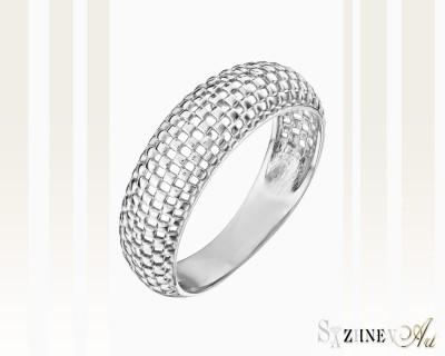 Кольцо из белого золота без камней. Артикул CH041-k003w