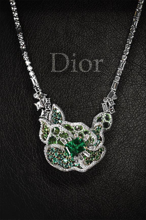 Колье Vitrail витражной главы коллекции Dior Rose