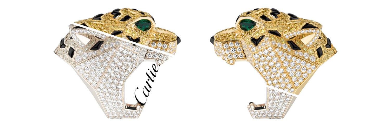 Новостные тренды дизайнерских колец Cartier
