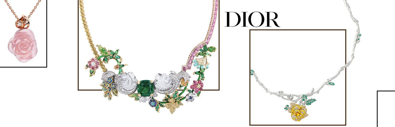 Новости мира премиум подвесок и колье Dior