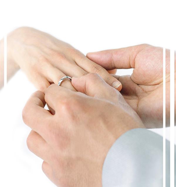 Предложение индивидуальных обручальных колец