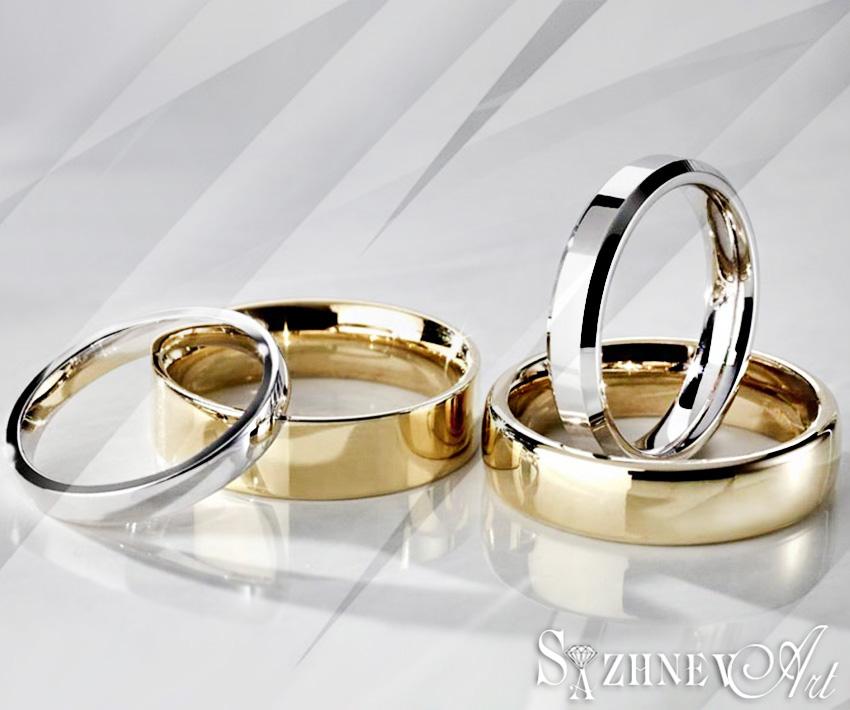 Разновидности обручальных колец, их форм и дизайнов.