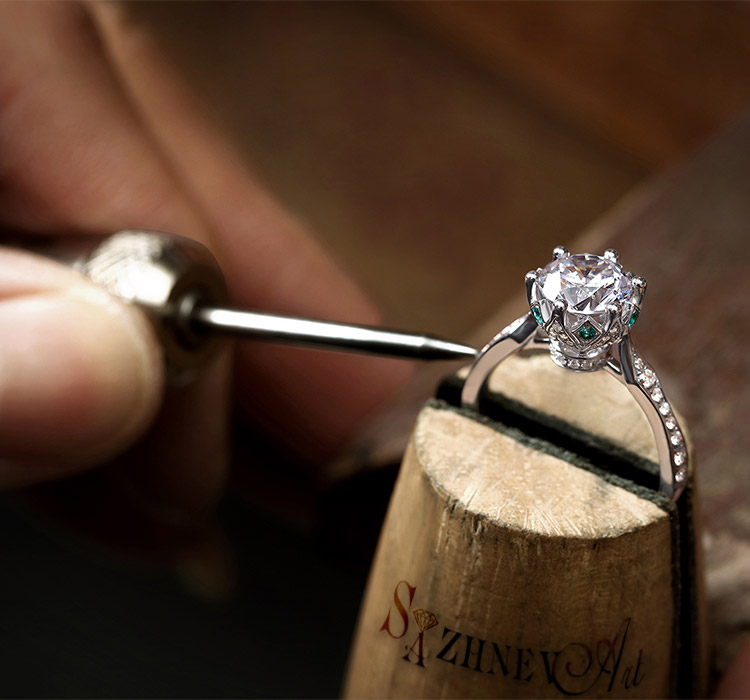 Заказать индивидуальное изготовление кольца